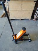 3 Tonne Hydraulic Trolley Jack New Unused
