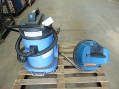 2 x Heavy Duty Vacuum Cleaners