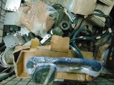 Mixed Stillage of CES Equipment Including Tools, Radio Eqpt, Periscope, Lights etc