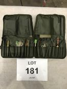 2 x Unissued British Army Weapon Cleaning Kits