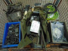 Mixed Stillage including Radio Cables, Microphone Kits, Scam Mast Erection Kit, Headsets etc