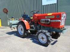 Yanmar YM1510D 4WD Compact Tractor c/w Rotovator