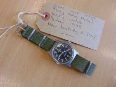 British Army CWC W10 Service Watch Nato Marked Date 1998