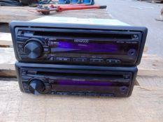 2 x Kenwood KDC-3051 Radio/CD/AUX/Stereo Head Units