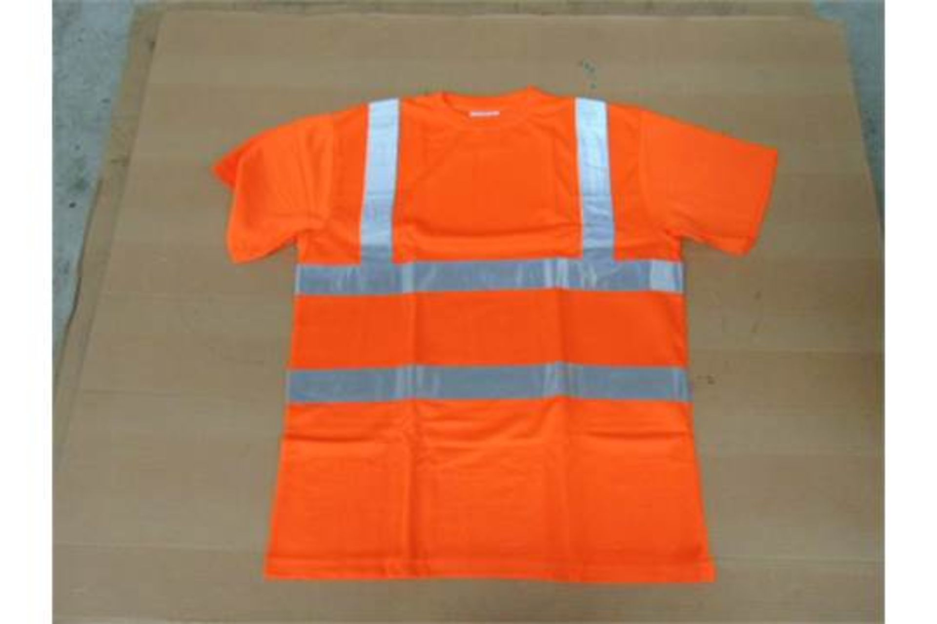 Lot 18 - Qty 100 x Unissued Cosalt Hi Vis Tee Shirts