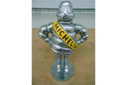 "15"" Polished Aluminium Detroit Reg 1918 Michelin Man"
