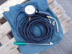 Michelin Approved Professional Tyre Inflator Air Line C/W Inflation Gauge and Carry Bag