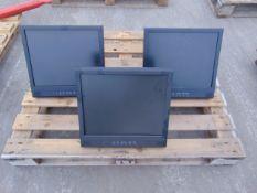 3 x LCD Monitors