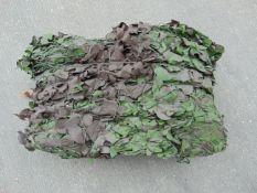Ex Reserve Unissued 9m x 9m Original Camouflaged Woodland Netting