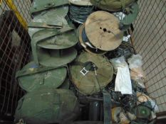 Mixed Stillage including Various D10 Cable & Cable Reels, Headsets, Radio Spares etc