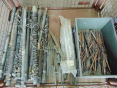 Mixed Stillage including Tent Pegs, Earthing Spikes etc