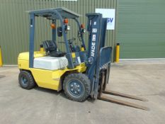 2018 Apache 3000Kg Diesel Fork Lift Truck ONLY 931 HOURS WARRANTED.