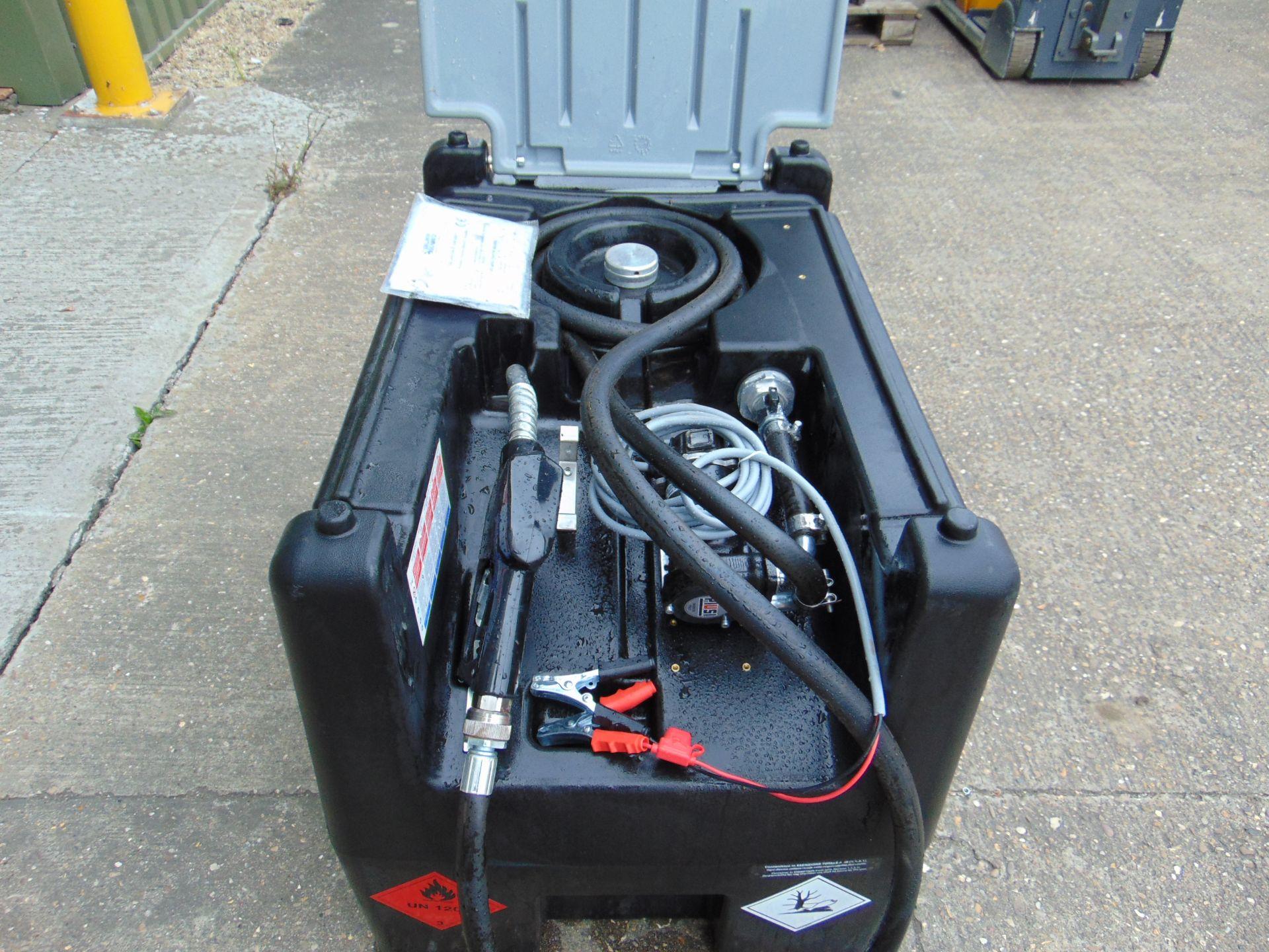 Lot 15 - Unused 220L Mobile Diesel Tank C/W 12v Fuel Pump, Nozzle, Hose etc
