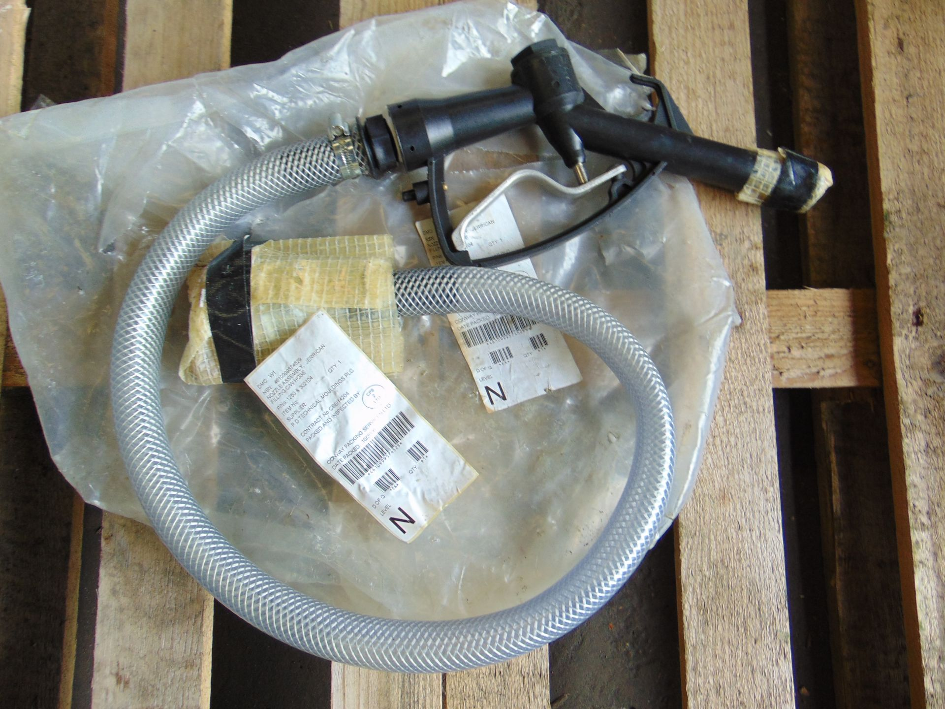 Lot 16 - Unissued Diesel Gravity Refuelling Hose Kit c/w Nozzle and Valve as Shown