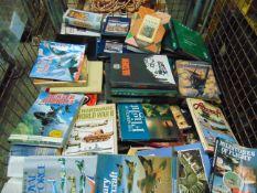 Stillage of Military Books, Manuals etc