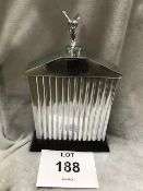 Beautiful Cast Aluminium Rolls Royce Model Radiator with Silver Lady