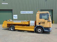 MAN TGL 7.150 4x2 Mallaghan TSU3000 Aircraft Toilet Service Truck ONLY 43,544km