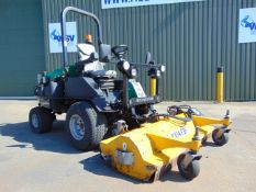 2014 Ransomes HR300 C/W Muthing Outfront Flail Mower ONLY 2331 hrs!