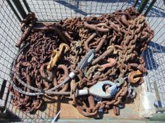 Recovery Eqpt inc Chains, Wire Rope Assy etc
