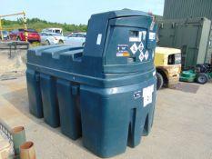 Kingspan Titan 2500 Litre Bunded Diesel Tank c/w pump, filter, hose, meter Etc.