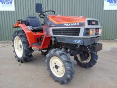 Yanmar F165 4WD Compact Tractor Only 81 Hours!!!