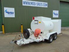 Fluid Transfer LTD 1500Ltr Aviation/Fuel Bowser Trailer
