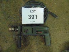 BLACK & DECKER 24 VOLT HAMMER DRILL C/W LEAD
