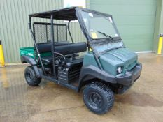 Kawasaki Mule 4010 Trans 4WD Diesel Utility Vehicle UTV c/w Power steering ONLY 1,895 hours!