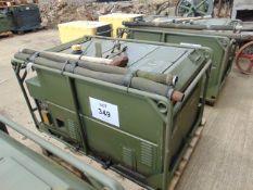 LISTER/ PETTER 5.6 KVA 240 Volt SINGLE PHASE 50 Hz Diesel GENERATOR 108 Hrs ONLY