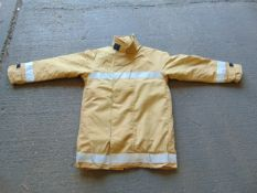 QTY 5 x Unissued Ballyclare Firefighters Jacket Size Medium Tall