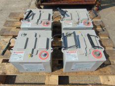 4 x Hawker UK6TFM 12 volt Batteries
