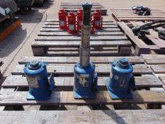 Q 3 Weber 12 Tonne Hydraulic Jacks