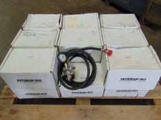18 x Unissued Air Hoses c/w Pressure Gauge, Regulators etc