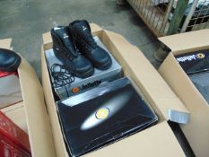 Qty 4 x UNISSUED Jallatte Safety Boots Sizes 10.5 & 9