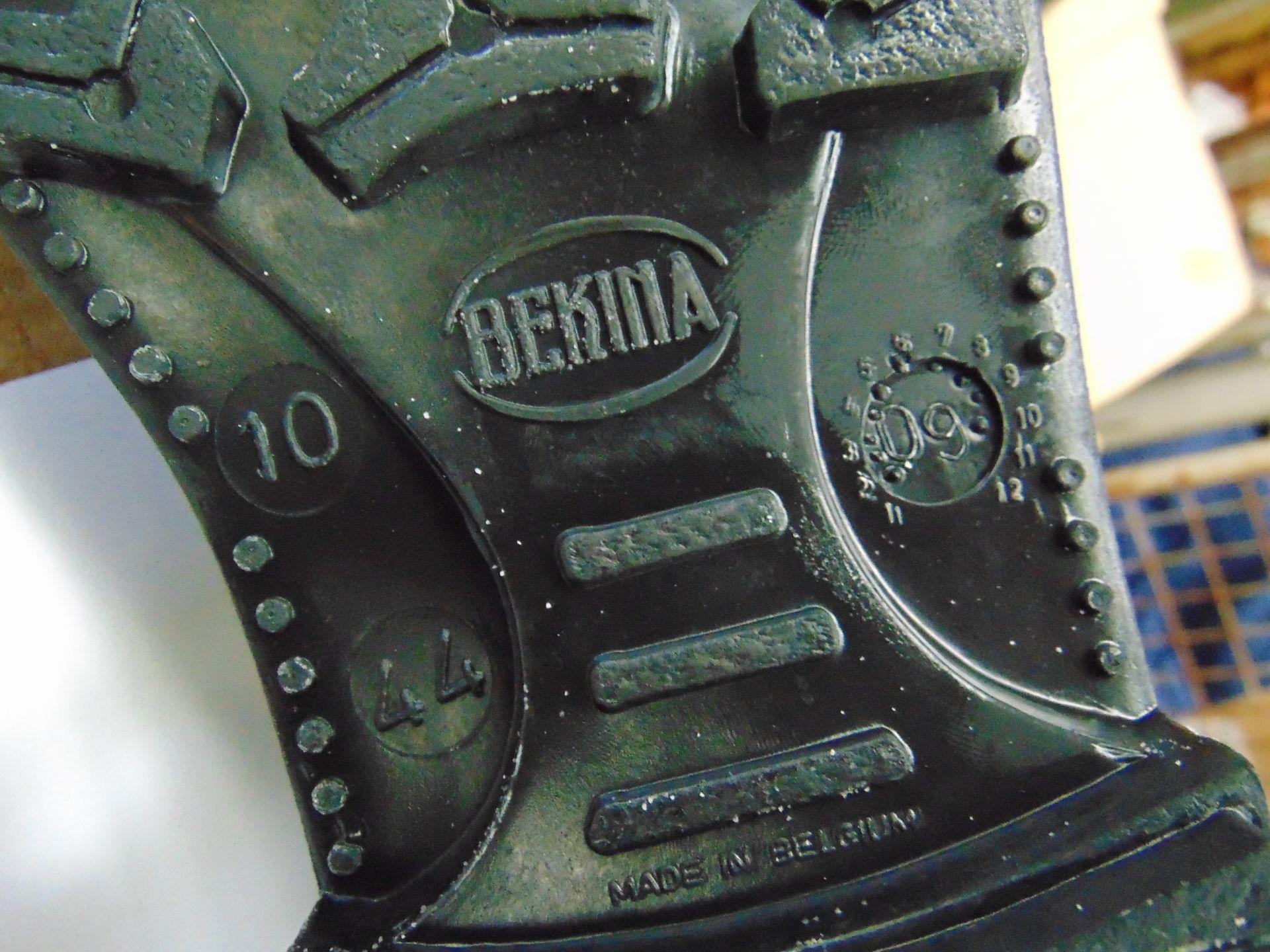 Lot 40 - Qty 5 x Unissued Bekina Wellington Safety Boots Size 10