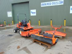 KUBOTA F3680 4x4 Professional 72 inch Mower c/w sweeper and snow plough 1008 Hrs from UK Govt Dept.