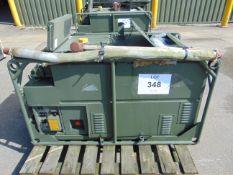 LISTER/ PETTER 5.6 KVA 240 Volt SINGLE PHASE 50 Hz Diesel GENERATOR 581 Hrs ONLY