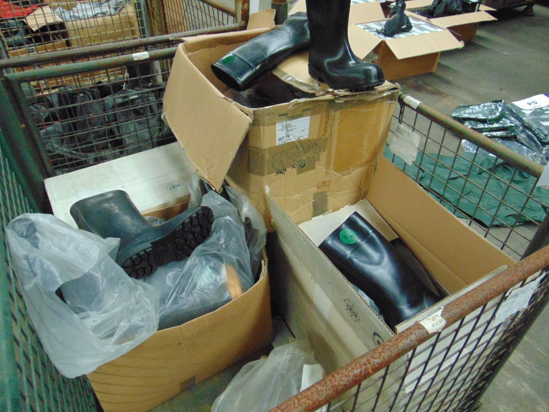 Approx 25 x Unissued Pairs of Bekina Wellington Safety Boots Mixed Sizes - Image 4 of 7