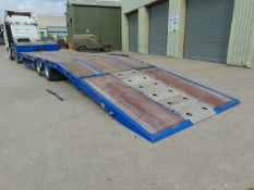 Direct UK Govt Dept. King GTS262 Twin Axle Low Loader Trailer 23,900 Kms only with winch Etc Etc.