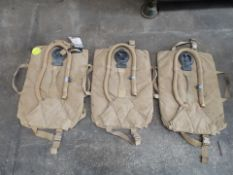 3 x Camelbak Military Hydration Backpack