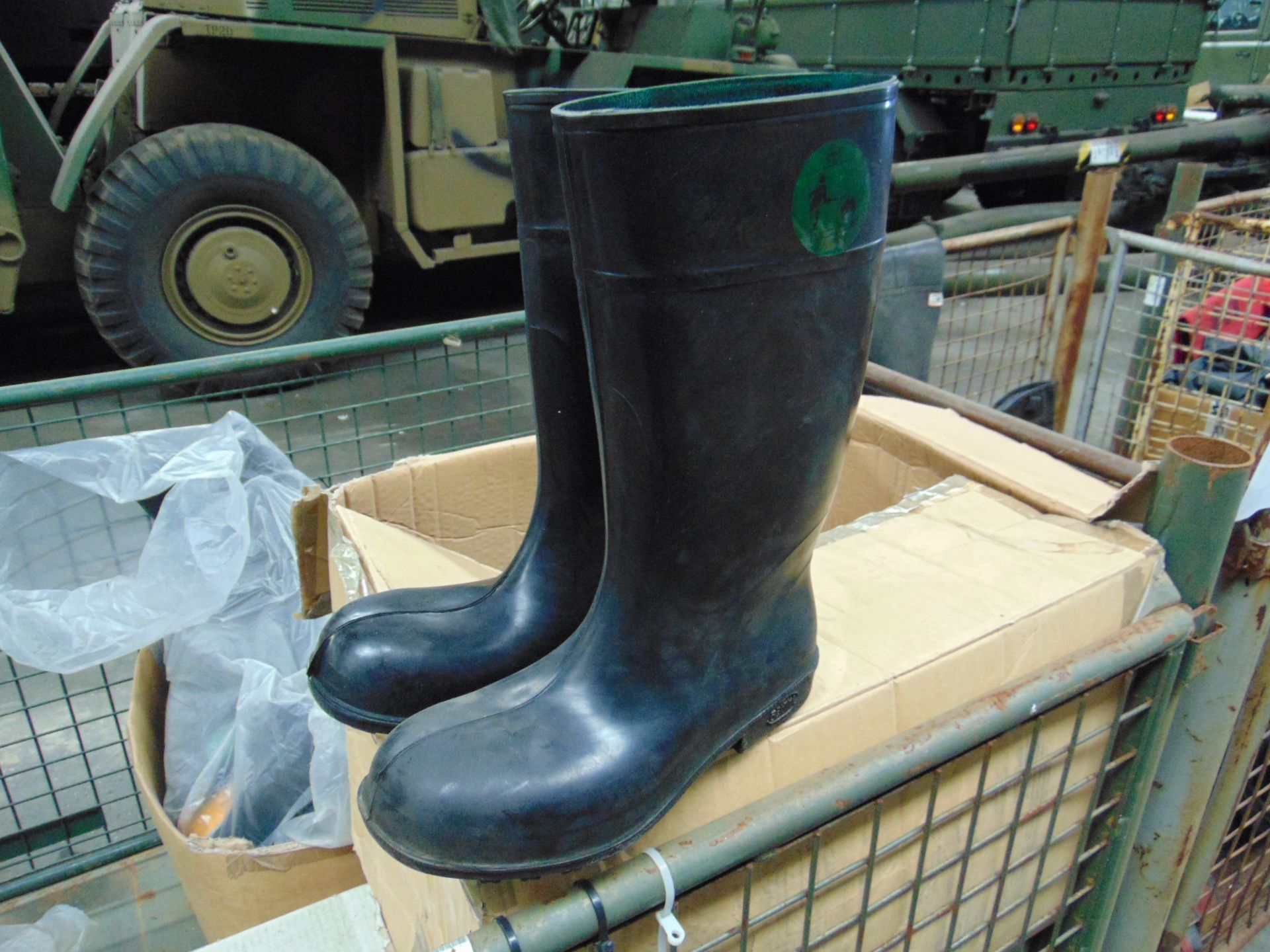 Approx 25 x Unissued Pairs of Bekina Wellington Safety Boots Mixed Sizes - Image 2 of 7