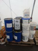 One Pallet w various Oils, Sealant, Corrosion Protection, etc - approx 50+ items