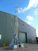 Clark 15m Demountable CCTV Mast Assy with Accessories and Cover.