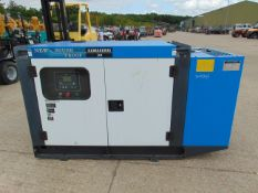 UNISSUED 30 KVA 3 Phase Silent Diesel Generator Set. This generator is 3 phase 230 / 400 Volt
