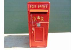 CAST ALUMINIUM RED POST BOX