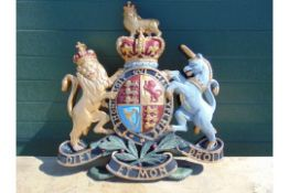 HAND PAINTED ROYAL CREST