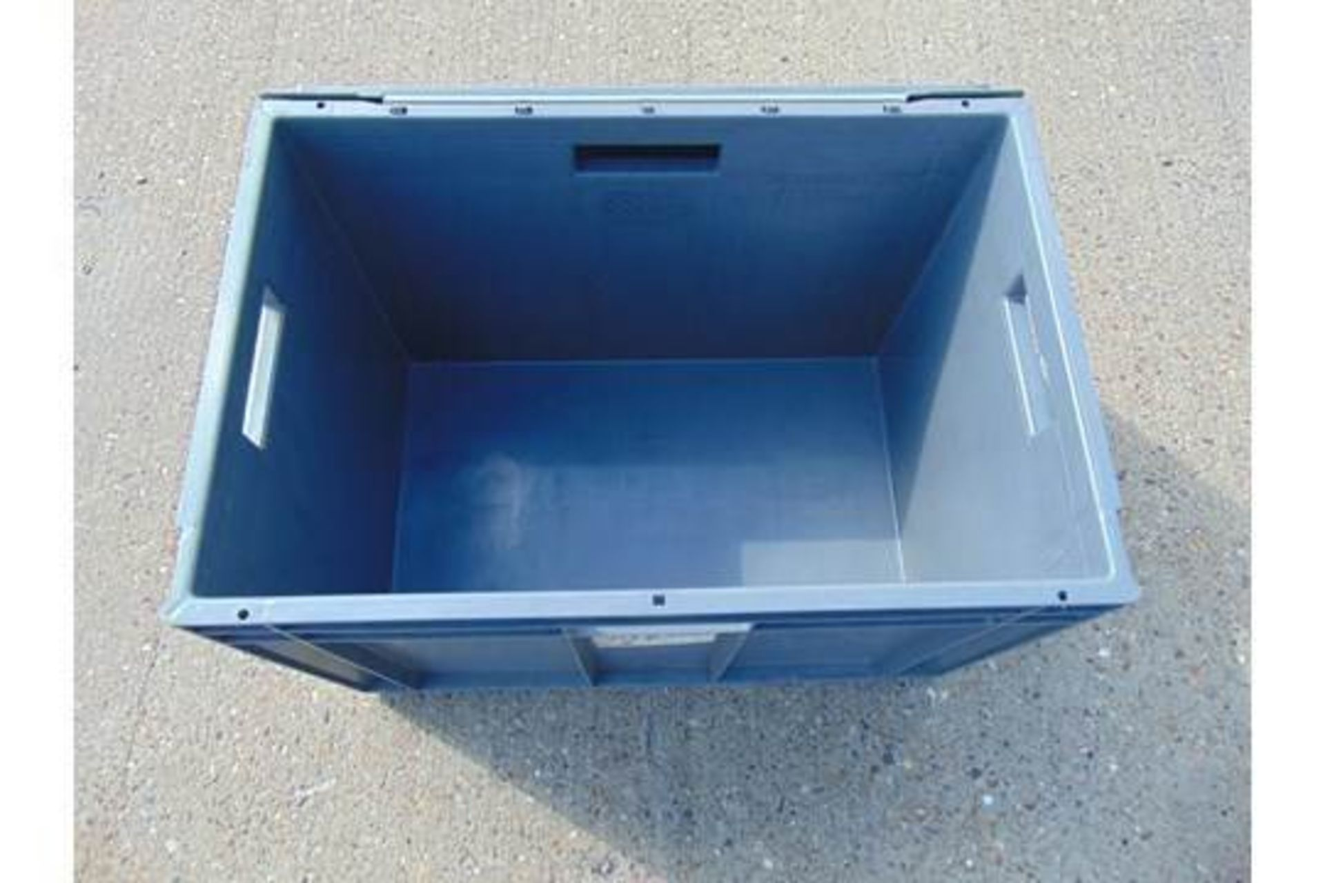 Lot 12 - 10 x Standard MoD Stackable Storage Boxes c/w Lids