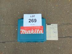 Makita 6802BV Electric Screw Driver c/w accessories