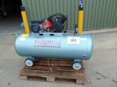 220 Volt Single Phase 300 L Panerise Garage Compressor Unused