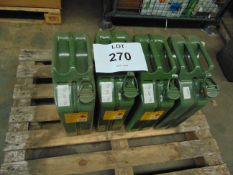 Unissued 20L Jerry Cans - 4 units